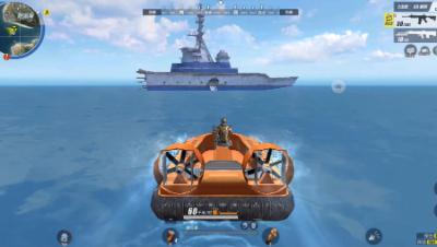 300人地图太疯狂了,我选择驾船逃亡……
