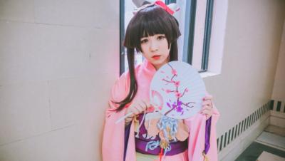 ★嘉也子★神乐·夏日祭-樱色金鱼Ver.★—★打上花火★