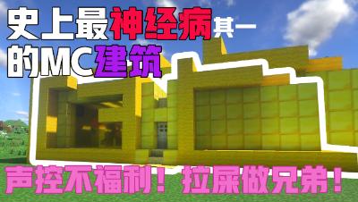 【MC】史上最神经病的建筑其3