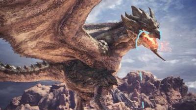 【小受】盾斧SOLO雌火龙2分04 TA规则.怪物猎人世界PC