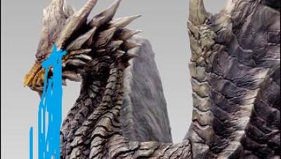 【小受】盾斧SOLO钢龙2分33TA规则.怪物猎人世界PC