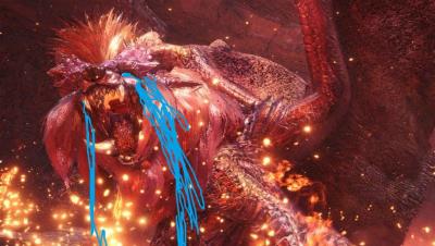 【小受】盾斧SOLO炎王龙2分39TA规则.怪物猎人世界PC