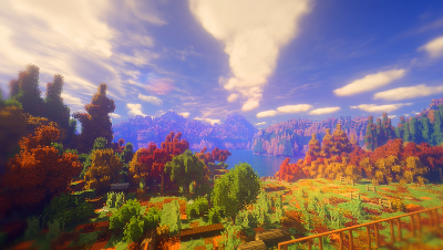 【Minecraft】风情 · 秋光一色 带你去看那绝美的秋日风光