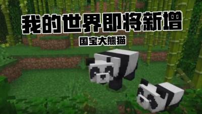 【MineCon2018】国宝大熊猫, 加入我的世界!