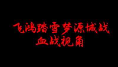飞鸿踏雪01.06梦源城战 血战视角