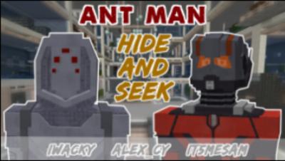 超级英雄蚁人躲猫猫感受恐怖与刺激吧!