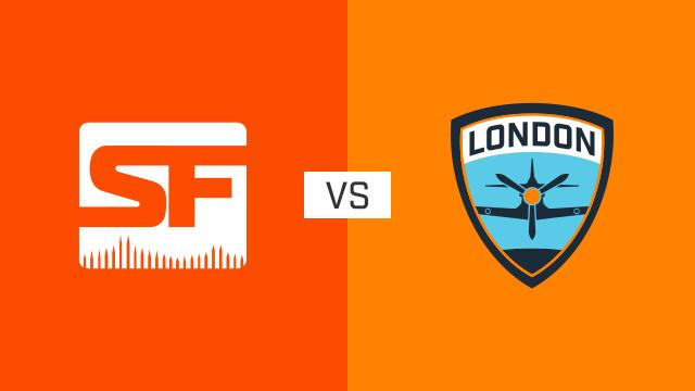 完整比赛 | 旧金山震动队 VS 伦敦喷火战斗机队