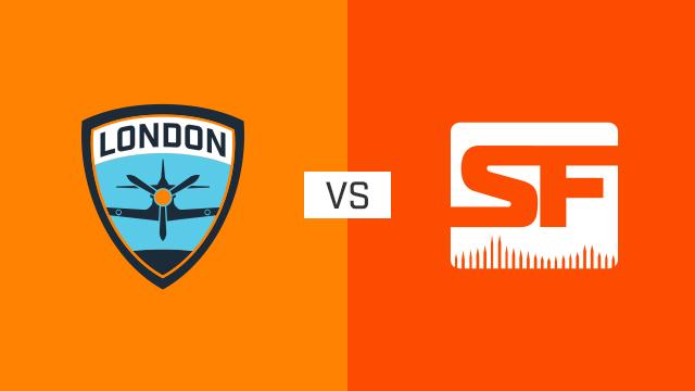 完整比赛 | 伦敦喷火战斗机队 VS 旧金山震动队