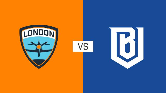 完整比赛 | 伦敦喷火战斗机队 VS 波士顿崛起队