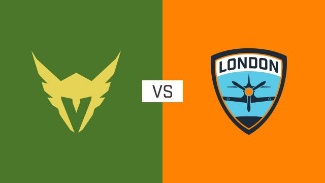 完整比赛 | 洛杉矶英勇队 VS 伦敦喷火战斗机队