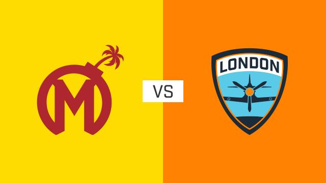 完整比赛 | 佛罗里达狂欢队 VS 伦敦喷火战斗机队