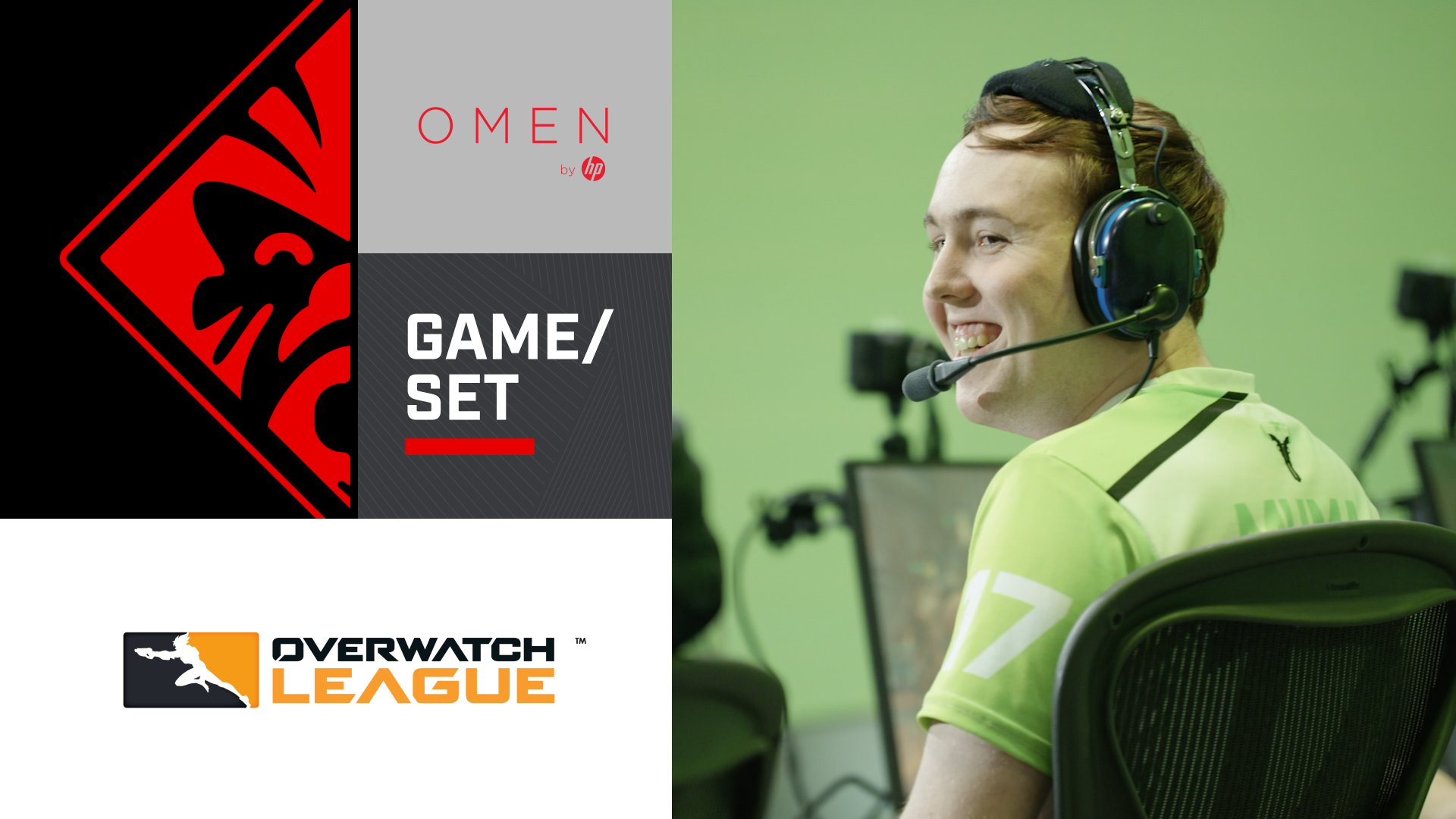 Game/Set mit Muma von den Houston Outlaws