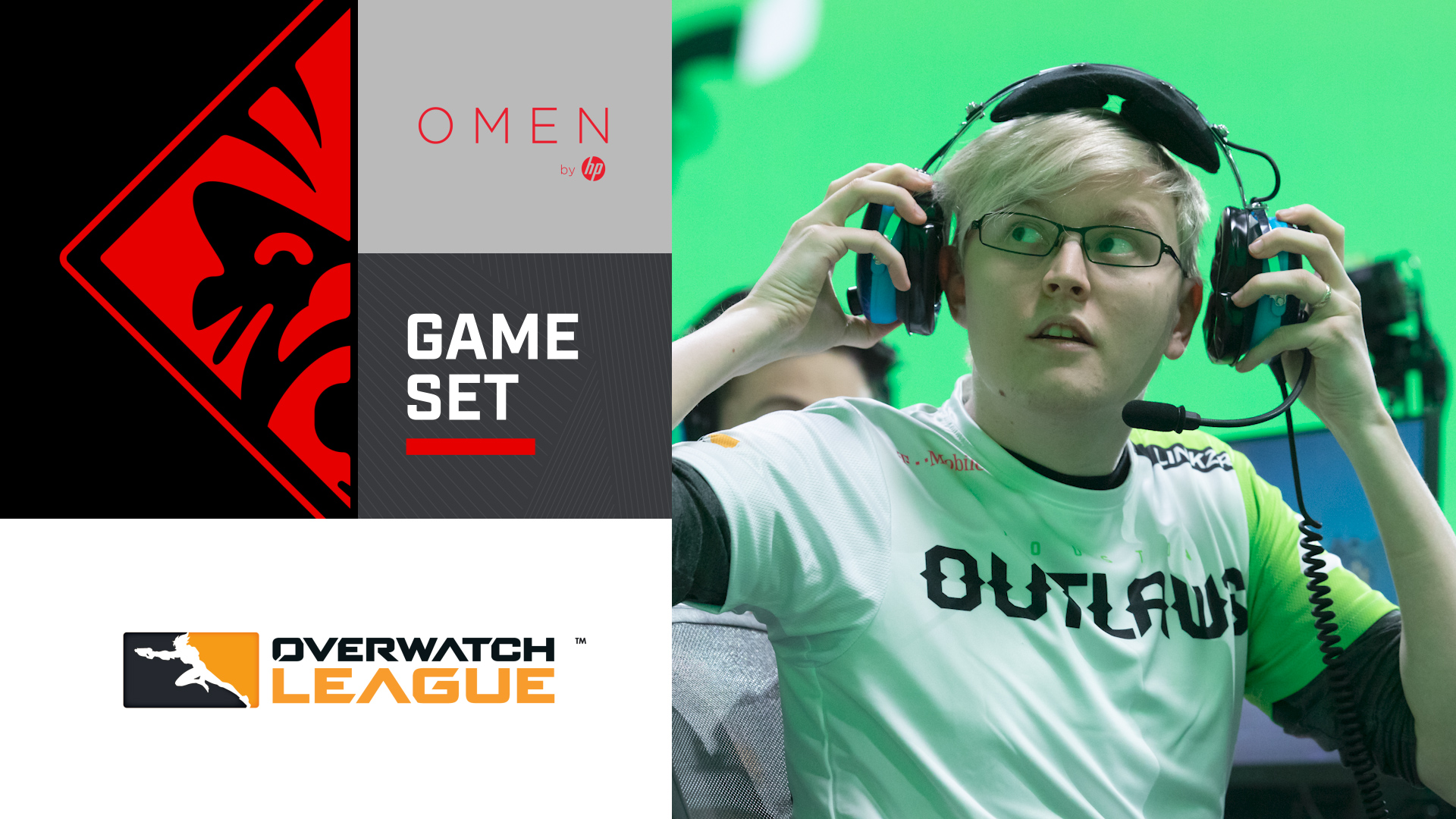 Game/Set mit LiNkzr von den Houston Outlaws