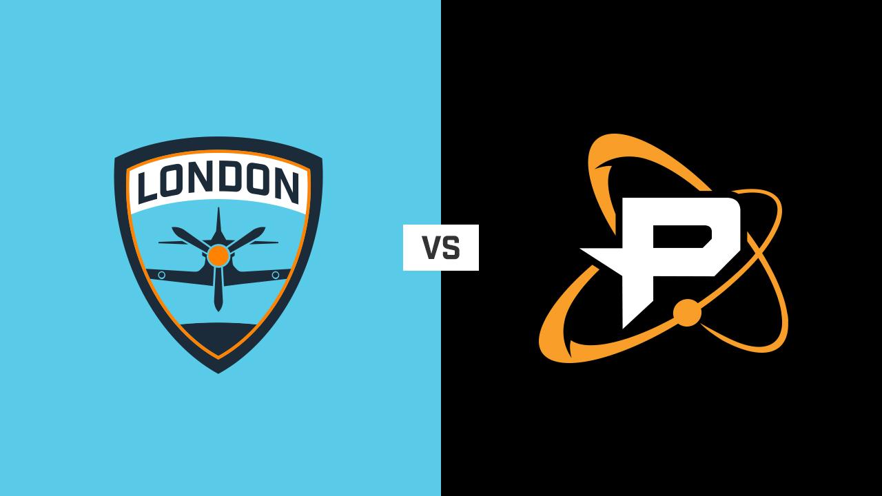 完整比赛 | 伦敦喷火战斗机队 VS 费城融合队