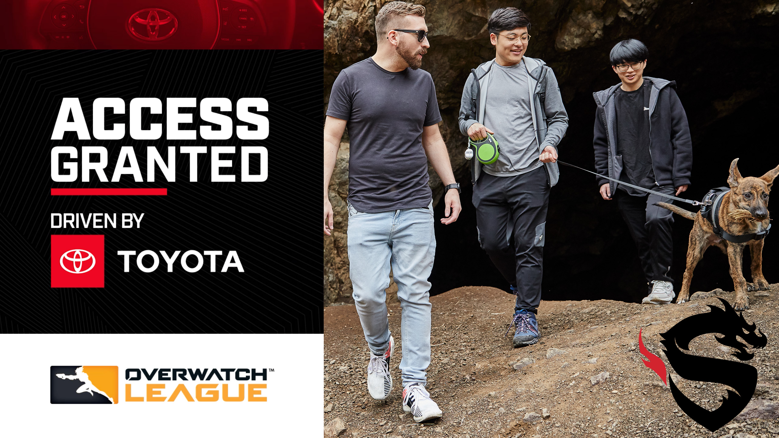 Shanghai Dragons Gamsu And CoMa Go Hiking: Access Granted