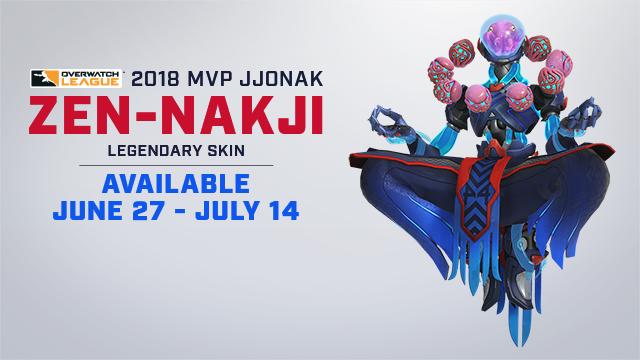 Jjonak's 2018 MVP Skin
