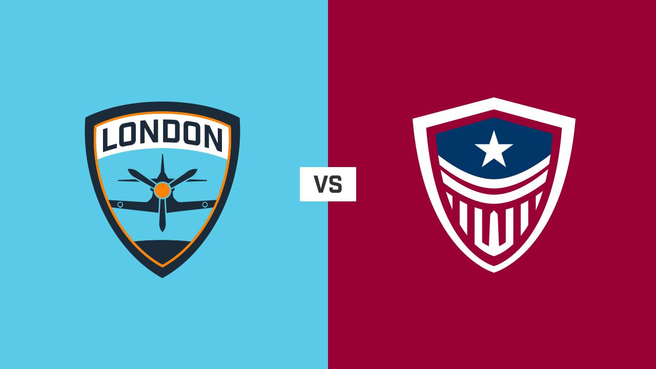 完整比赛 | 伦敦喷火战斗机队 VS 华盛顿正义队