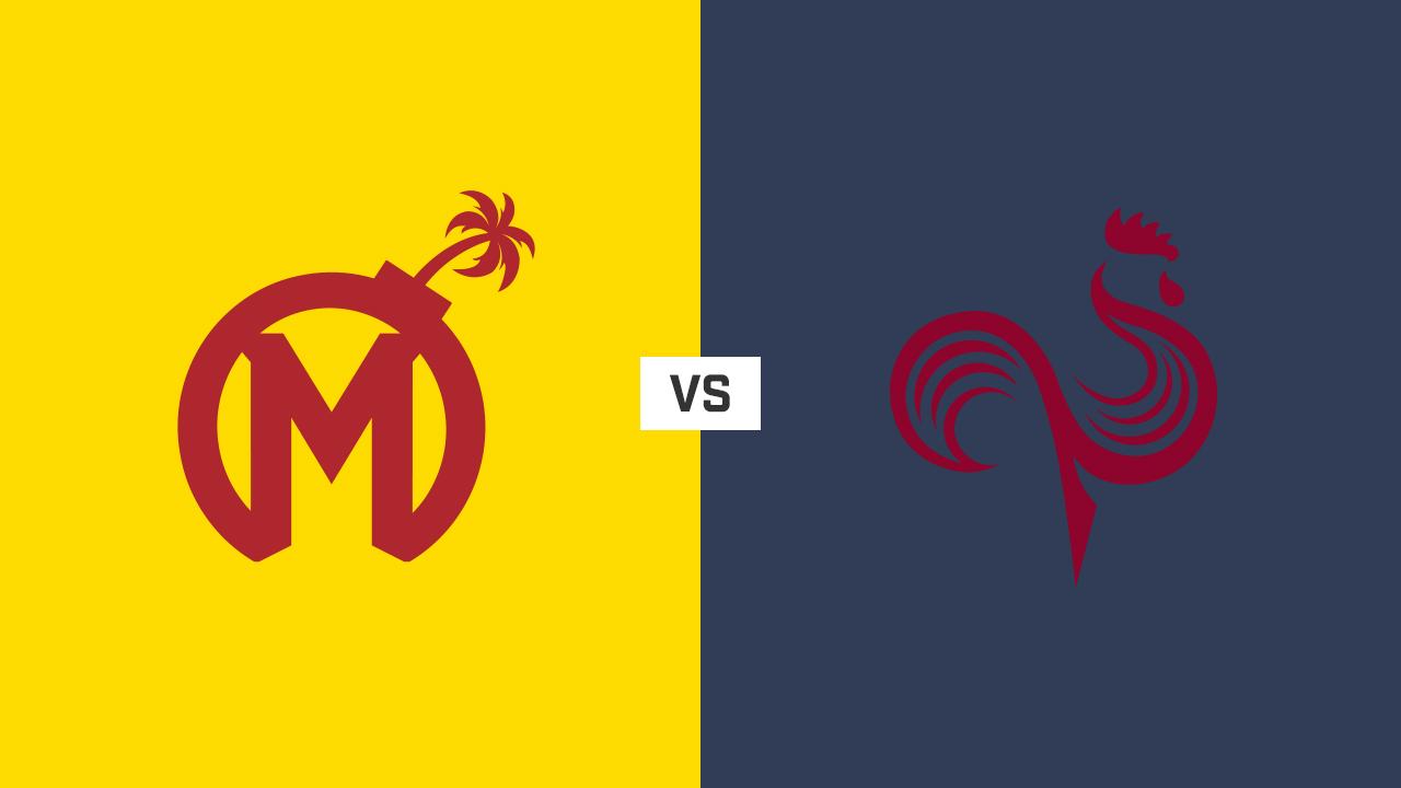 完整比赛 | 佛罗里达狂欢队 VS 亚特兰大君临队