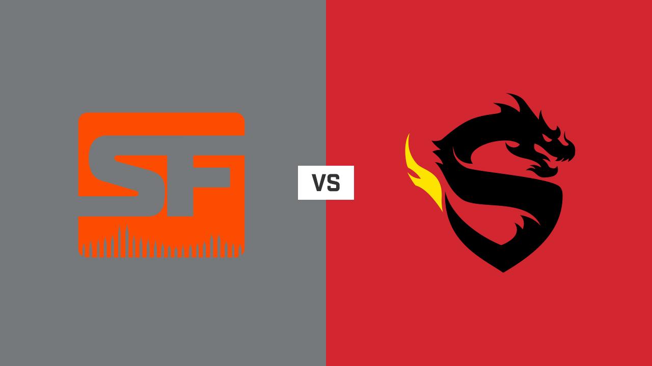 完整比赛 | 旧金山震动队 VS 上海龙之队