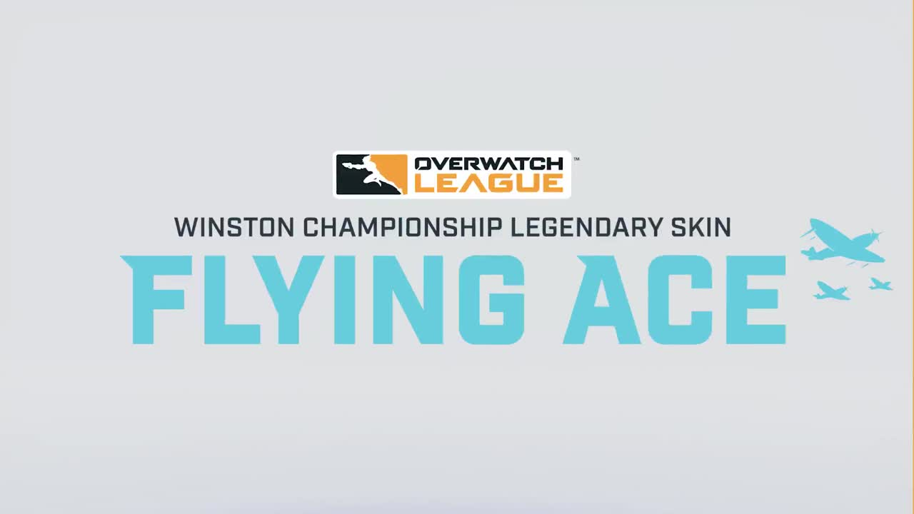 Winston Championship Legendary Skin: Flying Ace